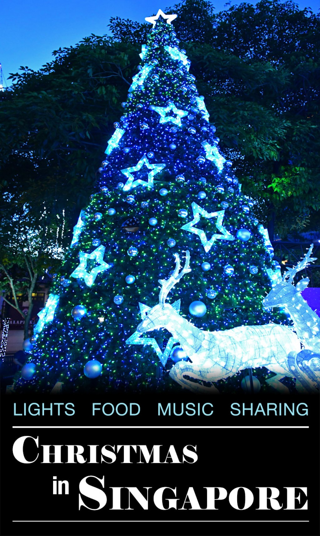 Christmas Lights To Music.Christmas In Singapore Lights Food Music And Festive