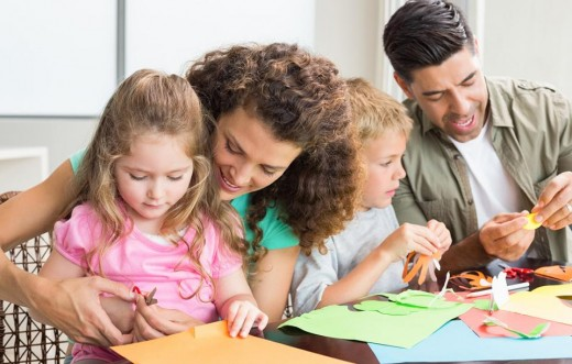 Spend some quality time with your spouse and children every day