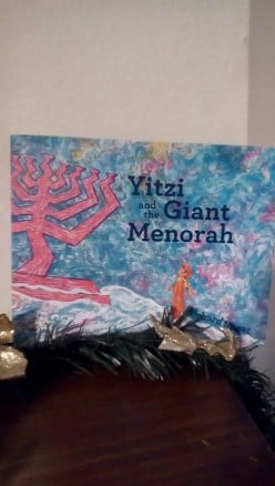 Hanukkah, a Giant Menorah, and a Surprise in This Charming Picture Book for the Holiday Season