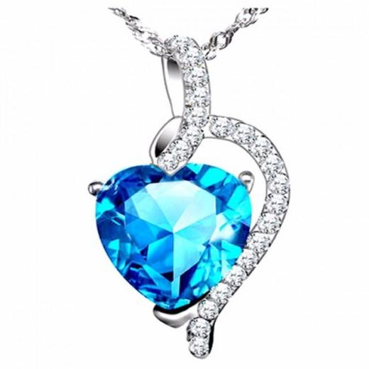 mabella blue necklace