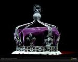 koh-i-nor diamond in situ Queen Mother's Crown.