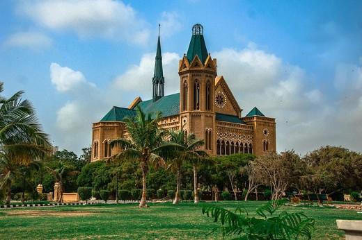Frere Hall, Karachi.