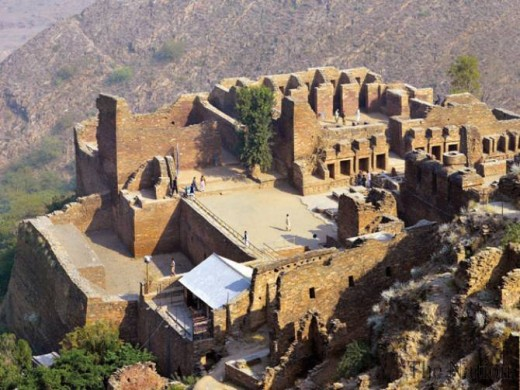 A Buddhist archaeological site, which is again a destination of Buddhist pilgrims from across the globe
