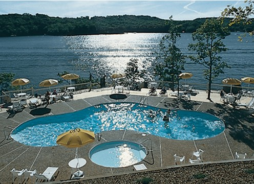 A scene at the Lake of the Ozarks