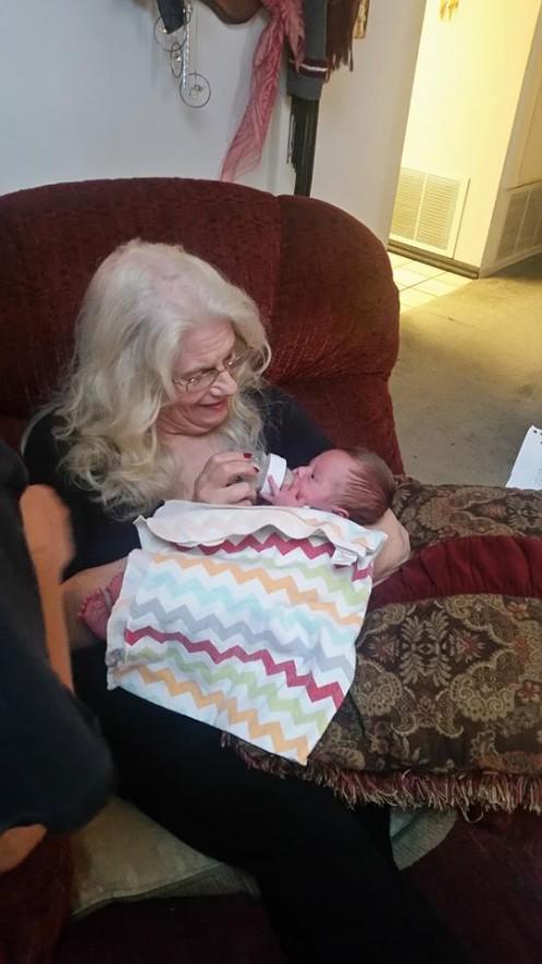 Grandma loves Andrew.