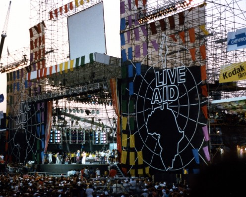 Live Aid—Backstage at the Biggest Concert Ever!