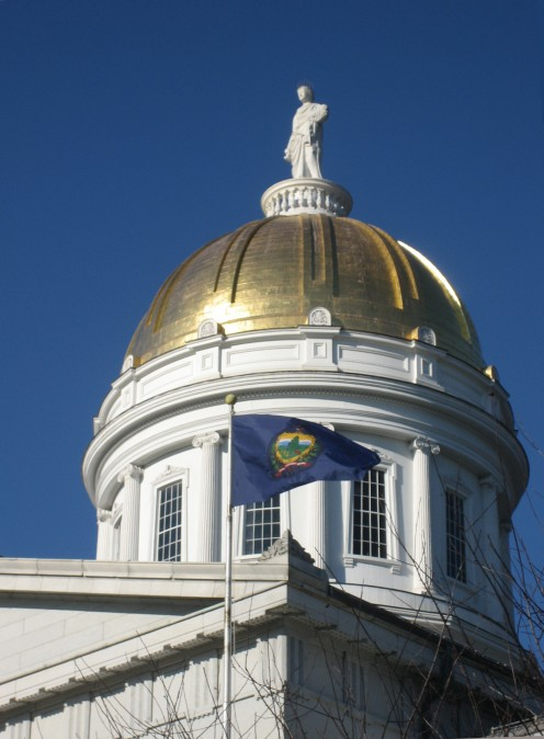 Dome of the Vermont State House