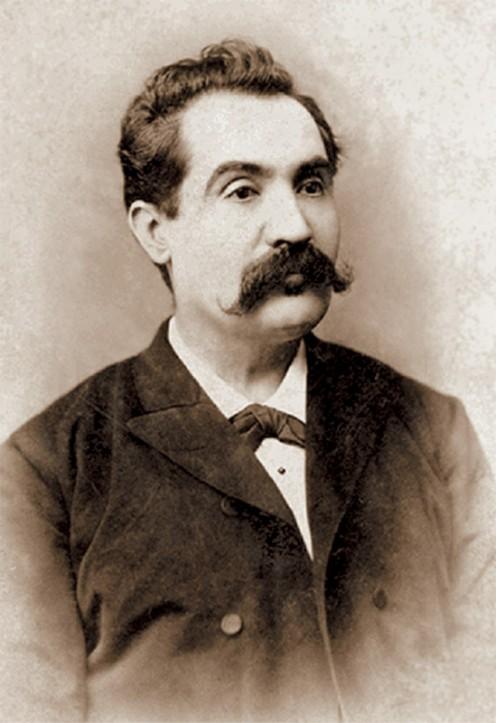 Jean Bielig - Portrait of Mihai Eminescu (1850 - 1889), Botoşani, 1887-1888