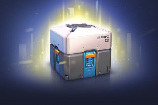 """A lootbox from Blizzard Entertainment's """"Overwatch"""". Its enticing design is no accident."""