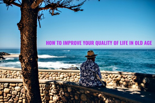 Advice to help people plan for an old age that gives them a good quality of life.