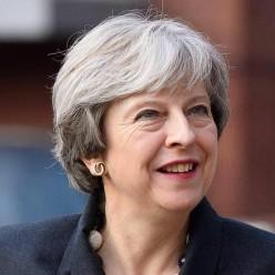 Kamikaze Theresa Ploughing On Regardless.