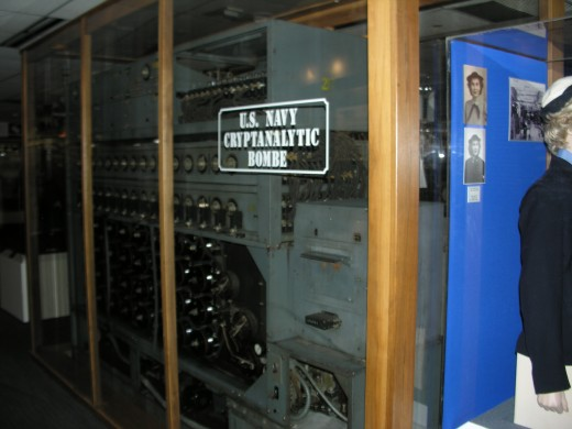 The Enigma machine's nemesis.