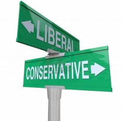 Turn Right or Turn Left:  A Simplistic Overview of What Drives Conservatives and Progressives
