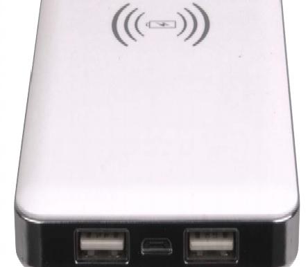 Laser Wireless charging power bank