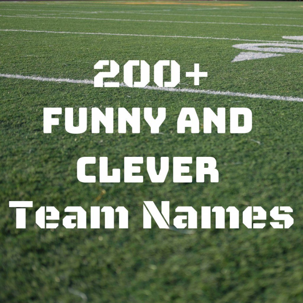 A Complete List of Cool and Funny Team Names | HowTheyPlay