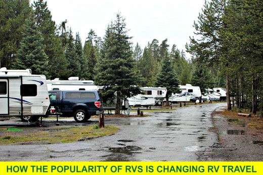 Campgrounds are becoming more crowded and expensive.