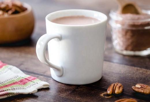 Cinnamon Pecan Hot Chocolate