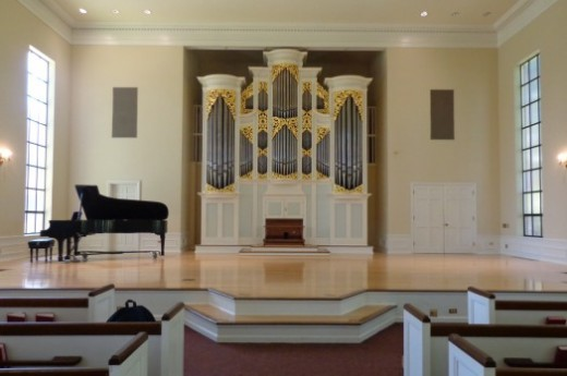 the Organ at University of Puget Sound, Kilworth Memorial Chapel
