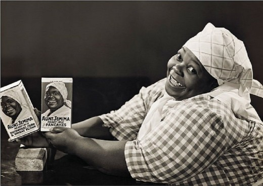 """The world knew her as """"Aunt Jemima"""", but this former slave's real name was Nancy Green and she made history as being one of the first African American models employed by an American company to promote a product."""