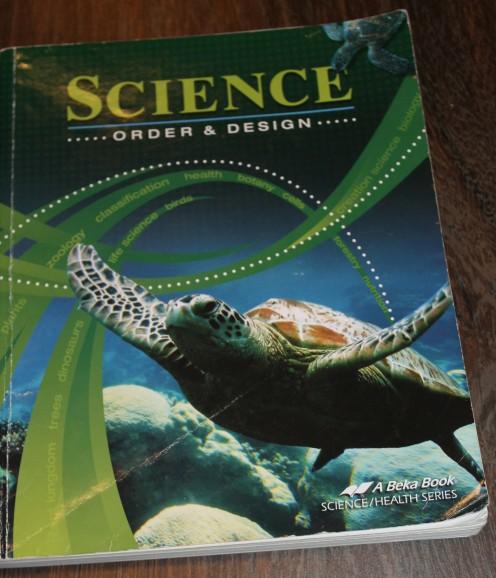 A Beka's Science: Order & Design textbook