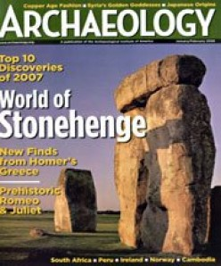 Archaeology, a publication of the Archaeological Institute of America