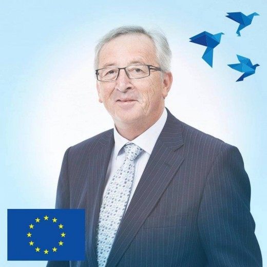 EU man Jean-Claude Junkcer.