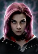 Actress Natalia Tena as Nymphadora Tonks