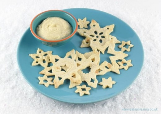 Snowflake Tortilla Crisps