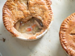 Classic Chicken Pot Pie Made At Home