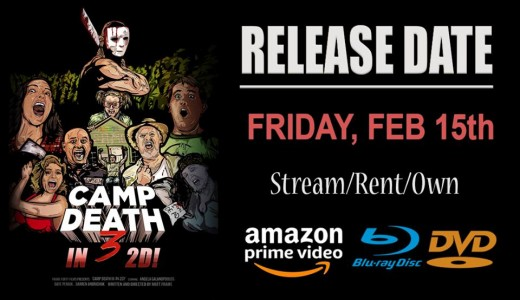 Release date for Camp Death III in 2D #movies #horror #spooffilms