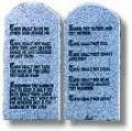 Law of God (10 Commandments)