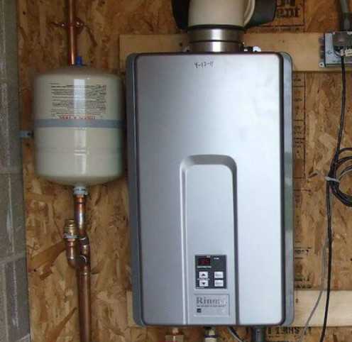 Tankless water heaters will save money over the long run.