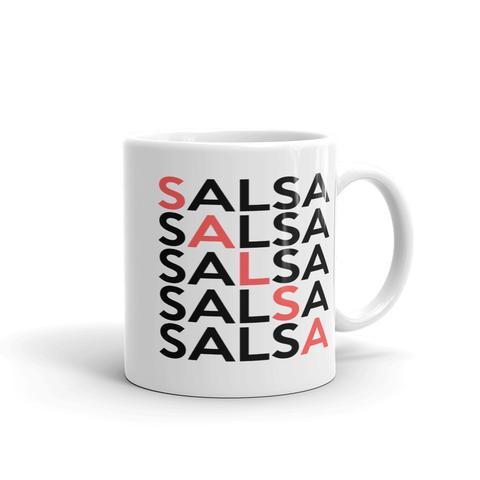 """Salsa x5"" Coffee Mug from Salsa Vida"