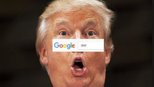 Googlebombs return pictures of unrelated subjects when you search for another term, usually a derogatory one.