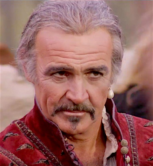 In The Highlander, Sean Connery plays an immortal who cannot die unless he is beheaded.