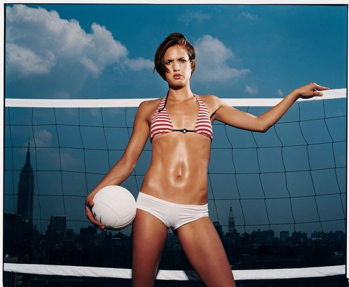 The Olypmic Games Beach Volley-ball is in the top five of most watched sports. Wonder why??