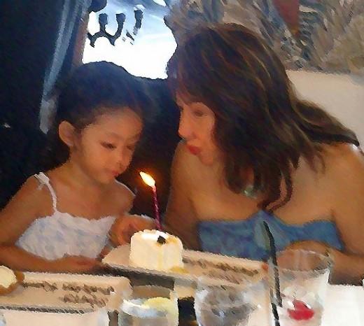 On her 3rd birthday