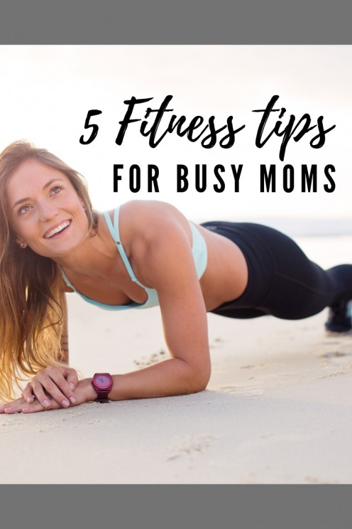 How to Get Fit When You're Already a Busy Mom