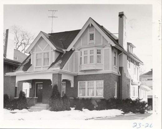 One of Vandenberg's homes, built in Grand Rapids in 1908