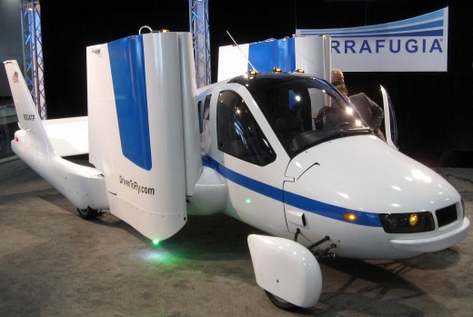 Terrafuigia prototype flying car.