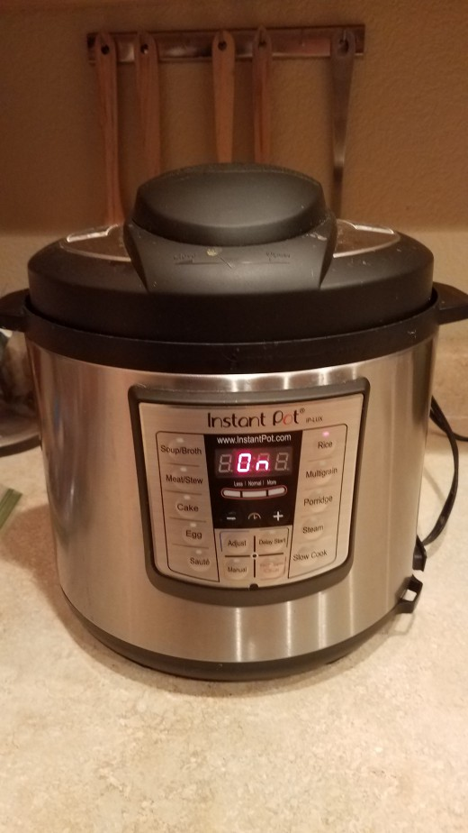 Start by making your rice on the stove, in a rice cooker, or in your Instant Pot.