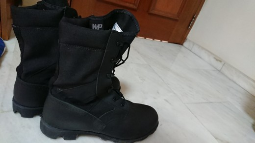 Boots I have to wear for one to two weeks every year