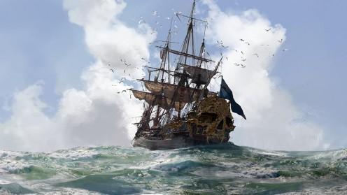 A Cursed Ship's Crew