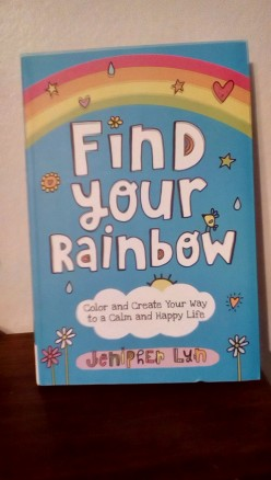 Self-Growth for Girls With Finding Their Own Rainbow of Wishes in Creative Book With Activities to Use for New Dreams
