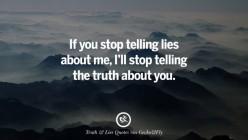True Lies Poem