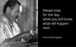 My Favorite Writer: Ernest Hemingway!