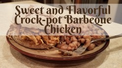 Sweet and Flavorful Crock-pot Barbeque Chicken