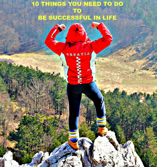 Once you define success, you will know what you need to d o to achieve it.