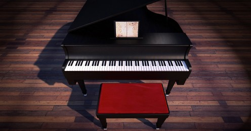 This piano symbolizes the one that Inspector Gadget tries to play in the episode while sitting down on a chair.