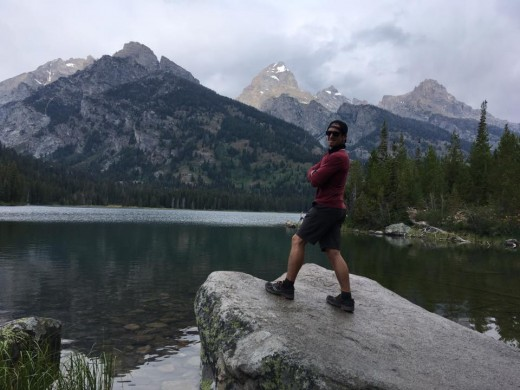 The lakes in Grand Teton NP are amazing
